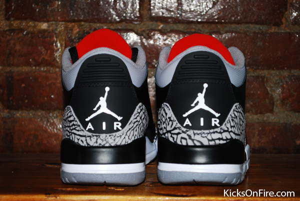 air jordan retro 3 black cement