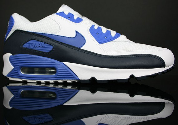 Air Max Blue And White
