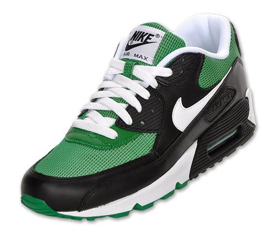 Nike air max 90 black and green