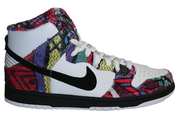 pretty nice fe73d 94ea9 Nike SB Dunk High Cosby / Dr Huxtable - Le Site de la Sneaker