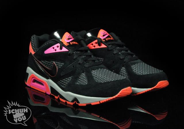 Nike Air Structure Triax 91 Black Vivid Pink Le Site