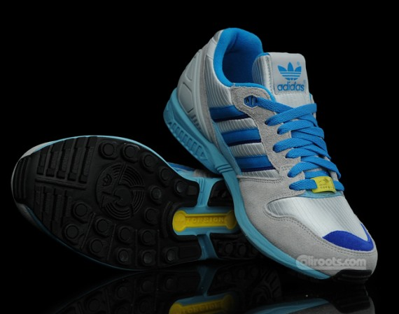 Adidas Originals ZX 5000 – Grey – Blue – Yellow Le Site de