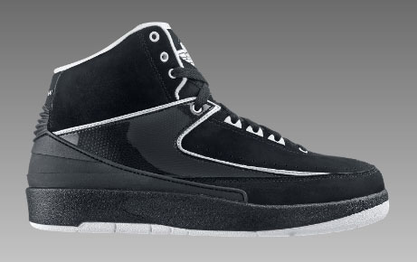 low cost 62819 b0ae2 Air Jordan II (2) Retro QF Black White 140€
