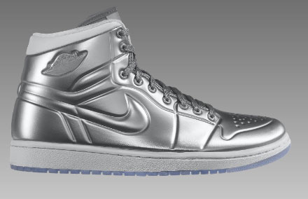 outlet store f4aa3 17ff5 Air Jordan 1 Anodized Armor Metallic Silver
