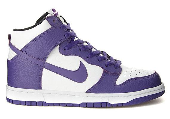 Pack violet nike dunk