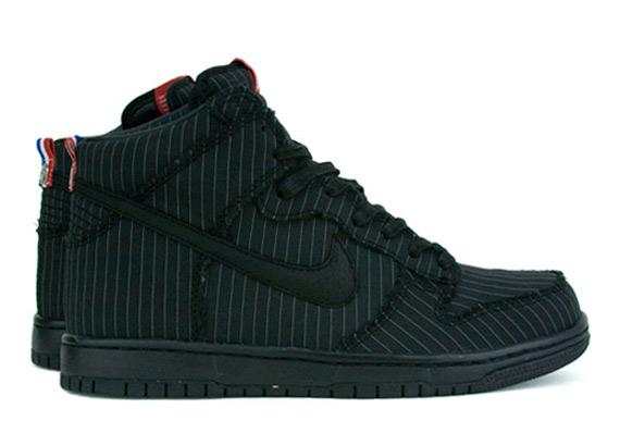 nike dunk low premium - Nike Dunk High Premium Black Pinstripe FFF Pack - Le Site de la ...