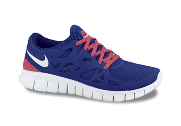 Nike Free Run 2 Grey Blue White .