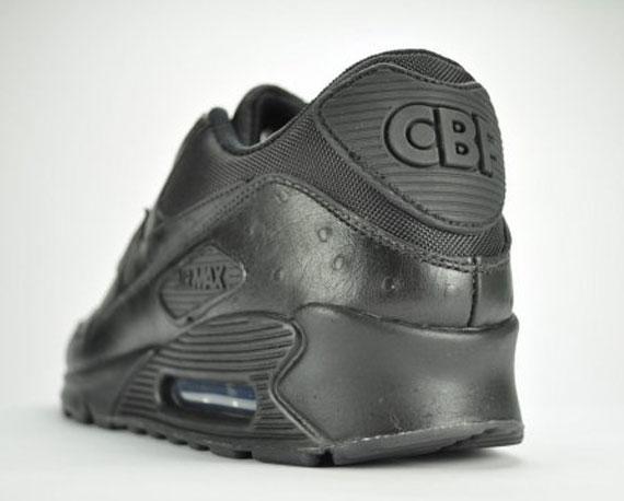 Nike Air Max 90 Premium 'CBF Pack' Black Ostrich