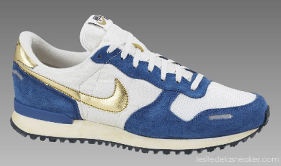 premium selection 7a6a1 66067 Acheter les Nike Air Vortex Vintage SailMetallic Gold-Court Blue-Black sur  Nikestore