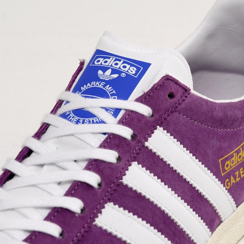 adidas gazelle femme purple
