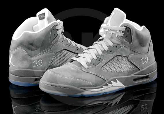 The Car Shop >> Air Jordan V Retro Light Graphite White Wolf Grey - Le Site de la Sneaker