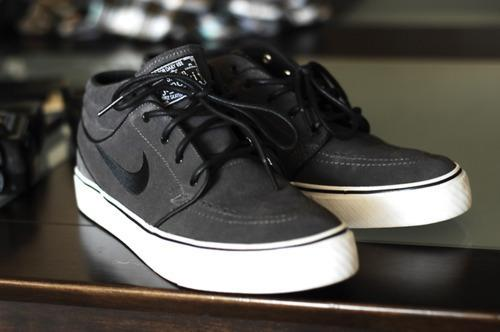 online store 1b724 878f5 Nike SB Stefan Janoski Mid GreyBlack - Le Site de la Sneaker