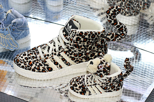 adidas originals x jeremy scott leopard sneakers
