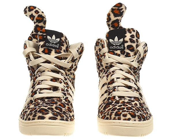 adidas jeremy scott leopard femme