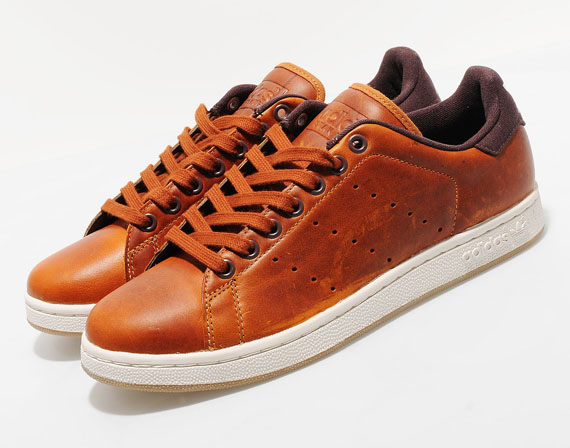 adidas original stan smith brun