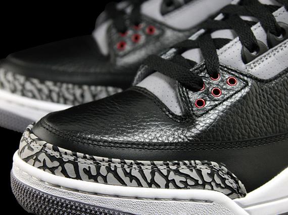 Pré commander les Air Jordan III (3) Black Cement sur Nikestore (155€)