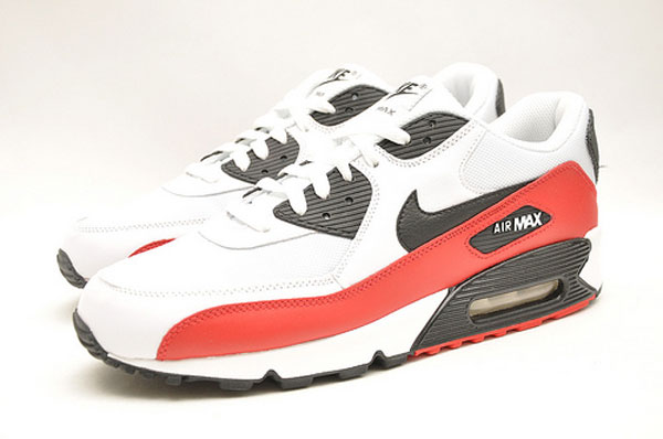 red white black nike air max
