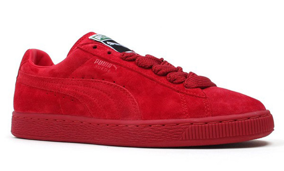 all red puma suede quotes. Black Bedroom Furniture Sets. Home Design Ideas
