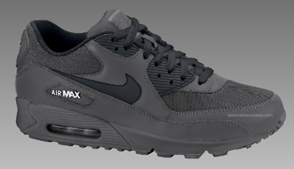 d650250a5fe Nike Air Max 90 Midnight Fog-Black-White dispo - Le Site de la Sneaker