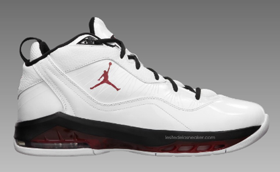 23b6b4982111 Air Jordan Melo M8 White-Black-Red dispo - Le Site de la Sneaker