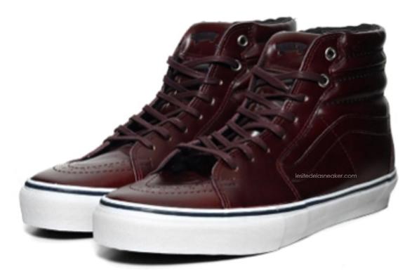 6711235464 Vans Vault Sk8-Hi LX Premio dispos - Le Site de la Sneaker