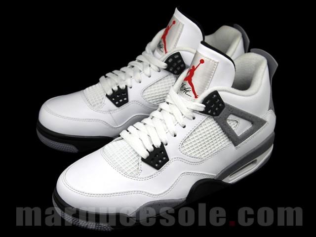 nike roshe run grey teal - Air Jordan 4 White-Cement 2012 nouvelles photos - Le Site de la ...