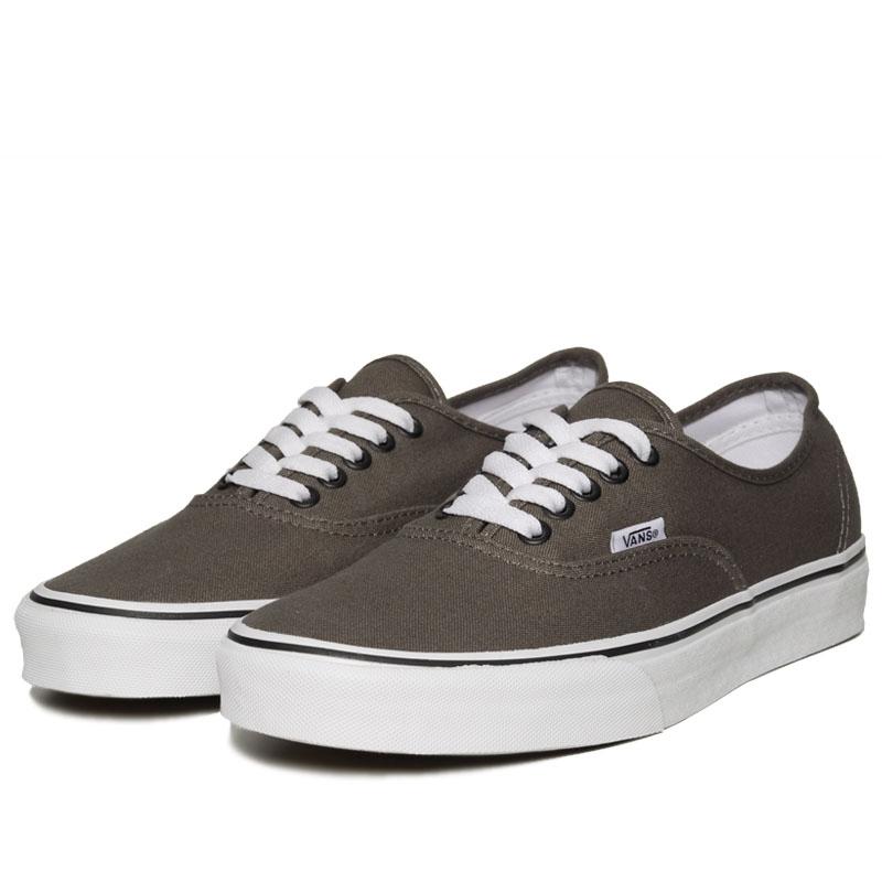 vans authentic sneaker pewter black