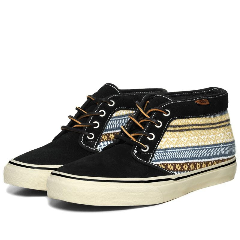 vans chukka boot black