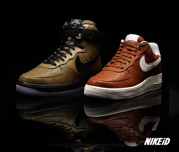 nike air force cuir