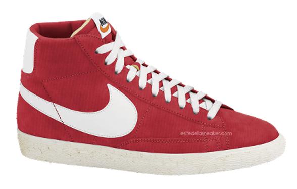 Nike Blazer High Rouge