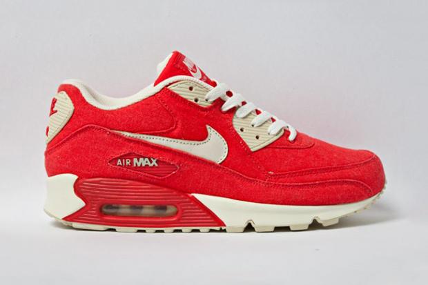 Nike Air Max 90 Red Canvas