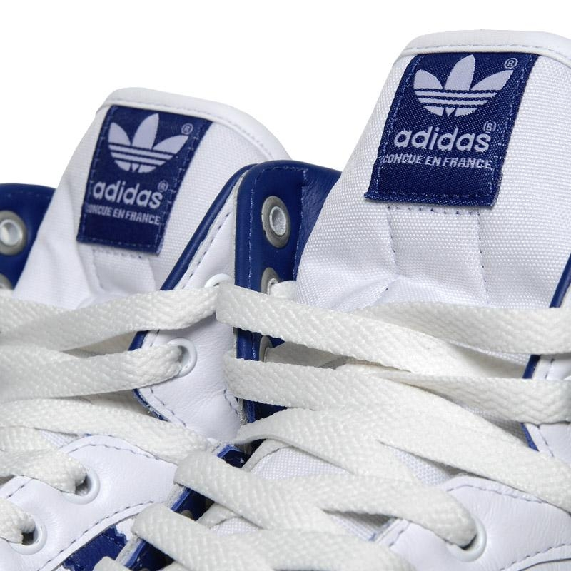 Adidas Decade Mid OG White Lone Blue Light Scarlet dispo
