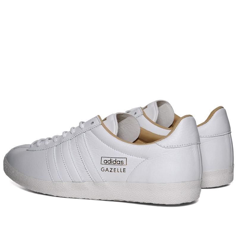 adidas gazelle cuir blanche