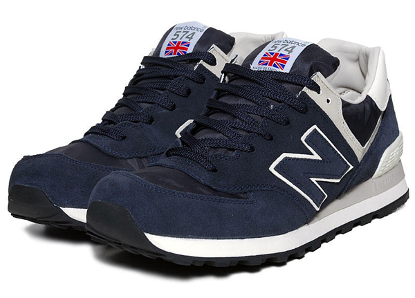 new balance 574 navy with grey