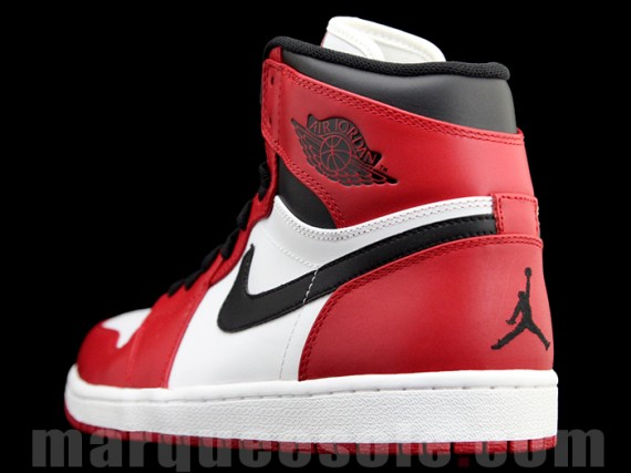 Air Jordan 1 White Red Black