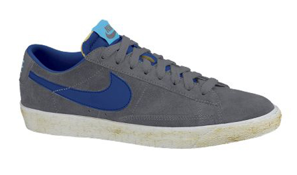Nike Blazer Low PRM Vintage Dark GreyRoyal Blue Le Site