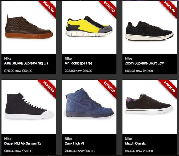 Soldes ete 2012 sur crooked tongues le site de la sneaker - Code promo la redoute livraison gratuite sans minimum d achat ...