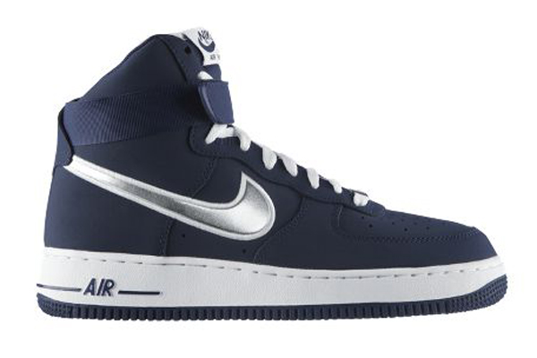 nike air force 1 hi london navy silver pictures to pin on pinterest