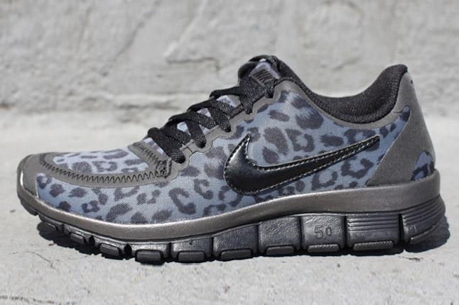Nike Free 5.0 Womens Leopard Print