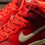 Nike WMNS Dunk High Skinny Red Leopard