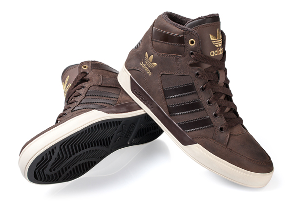 adidas hardcourt marron