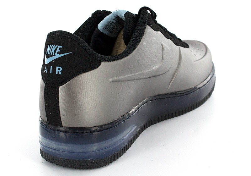 ... nike air force 1 foamposite pro low black ...