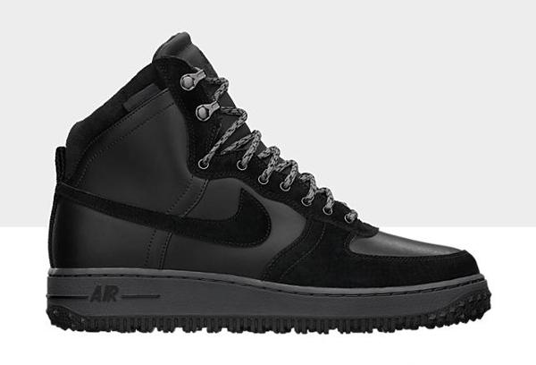 design intemporel e952a 8d73c Nike Air Force 1 Light Hi Deconstructed Military Black - Le ...