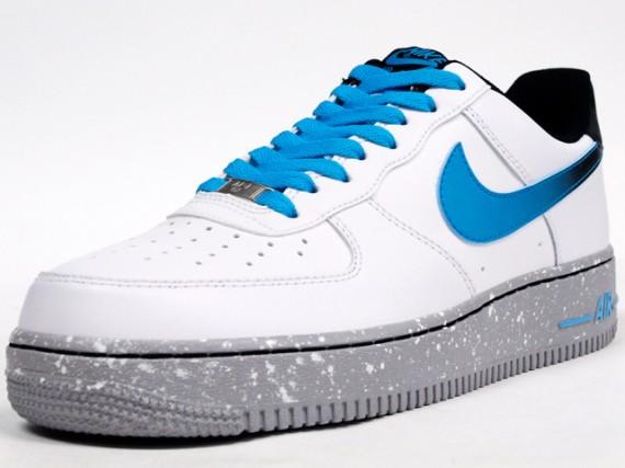 Nike Air Force 1 Low White Blue Nike Air Force 1 Womens  95fb195b5