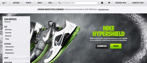 Code promo nikestore livraison offerte le site de la sneaker - La redoute livraison offerte ...