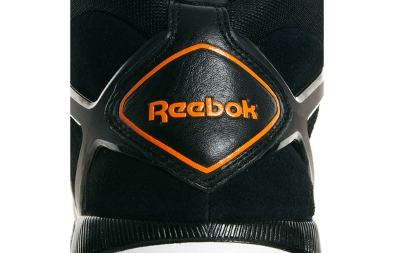 reebok pump black and white