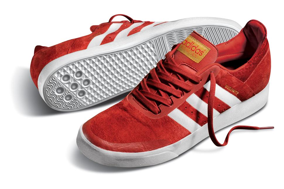 adidas skateboarding red