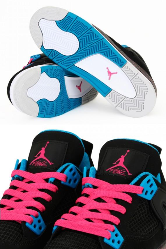 Air Jordan 4 Vivid Pink