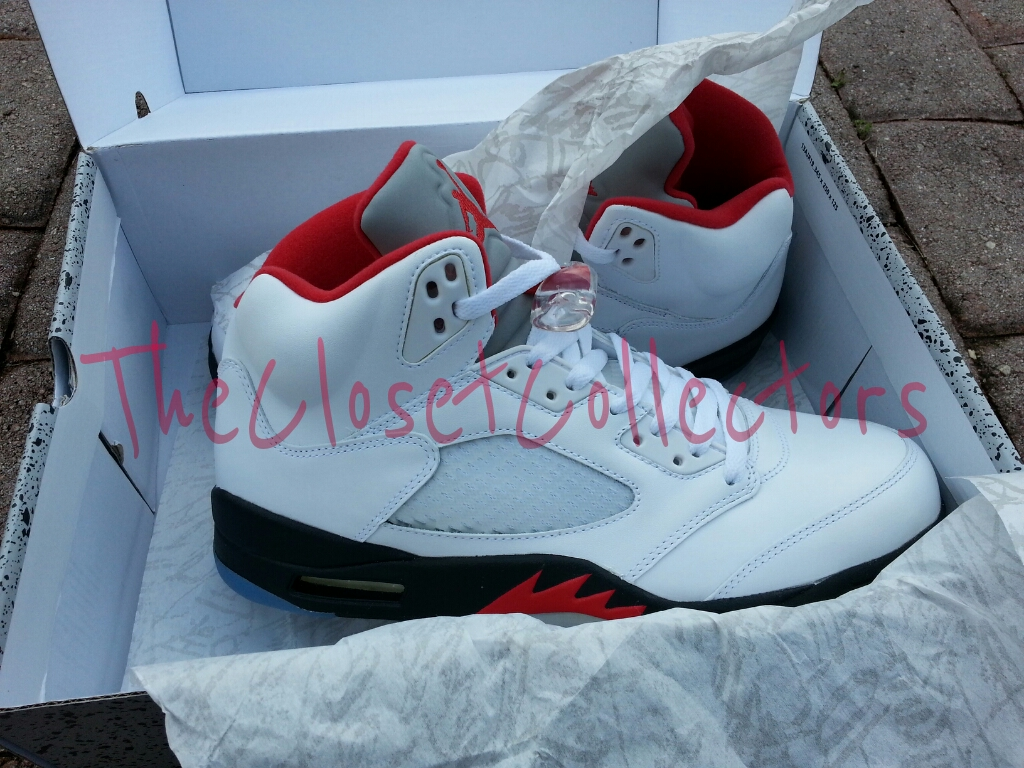 air jordan 5 fire red 2013