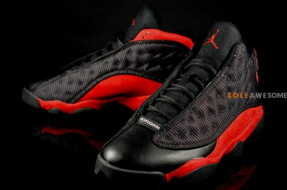 Air Jordan 13 Black Red